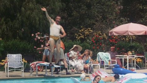cousin eddie in pool